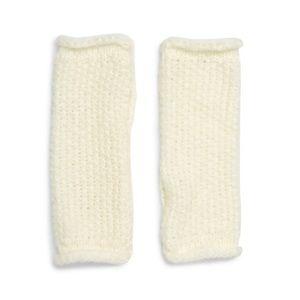 REBECCA MINKOFF Ivory Fingerless Arm Warmers NWT